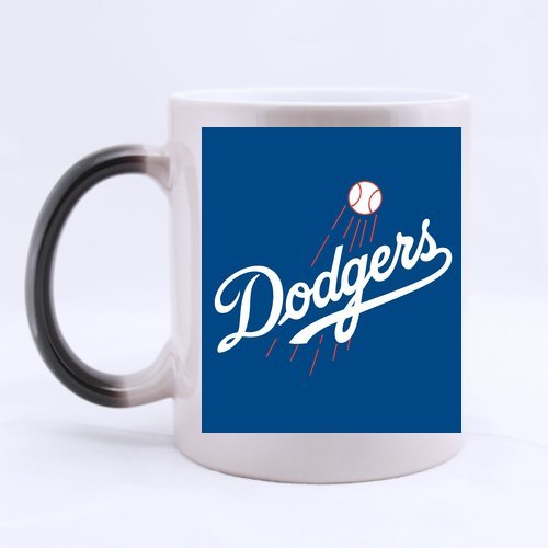 Custom Morphing Mugs Coffee Cup Printing Los Angeles Dodgers Logo 11 Ounce Bpcaese-590
