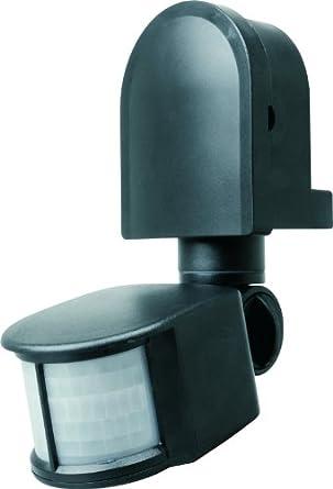 Byron Elro ES90 PIR Motion Detector Switch Area 180° x 12M 1200W Max Black