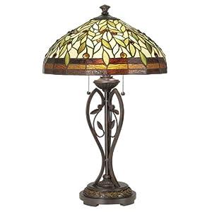 blossoming leaf and vine tiffany table lamp home improvement sale. Black Bedroom Furniture Sets. Home Design Ideas