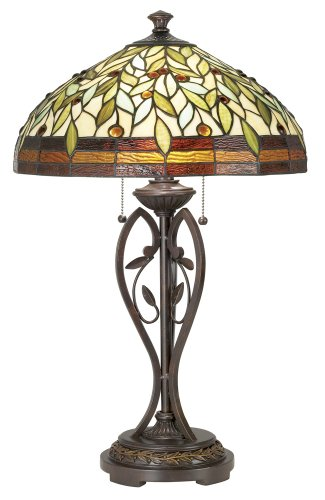 where to buy blossoming leaf and vine tiffany table lamp the cheap. Black Bedroom Furniture Sets. Home Design Ideas