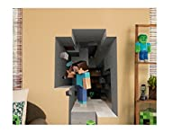 Minecraft Steve Mining Wall Decal/Cling