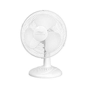 Lakewood LDF1209A-WM Oscillating Table Fan