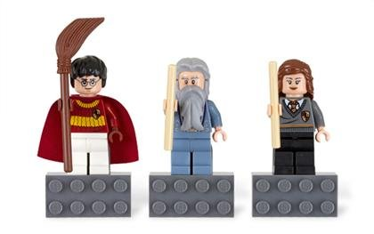 412OfF24yOL Cheap Buy  LEGO Harry Potter Magnet Set: Harry Potter, Professor Dumbledore, Hermione Granger