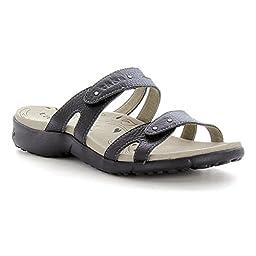 Taos JRN-13071 Women\'s Journey Sandal Black Size 8