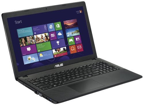 Asus X551CA-SX024D Notebook, Display LCD 15.6 Pollici LED, Processore Intel Core i3-3217 1.8 GHz, RAM 4 GB, HDD 500 GB, Nero