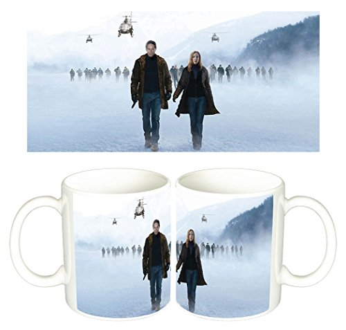 Expediente X The X-Files I Want To Believe David Duchovny Gillian Anderson Tazza Mug