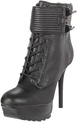 Sam Edelman Women's Vixen Lace-Up Boot,Black,6 M US