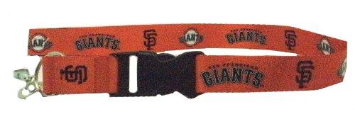 San Francisco Giants Velcro Lanyard - Orange
