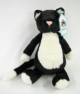 Jellycat Bashful Black And White Cat