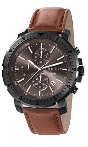 Esprit Esprit Nathan Chronograph Brown Dial Men's Watch - ES107521002