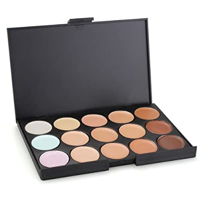 Pro 15 Color Face Concealer Camouflage Makeup Palette