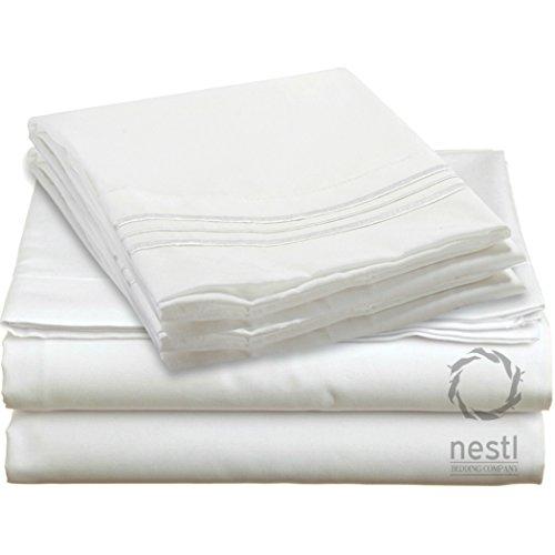 queen bed sheet bedding set 100 soft brushed microfiber with deep pocket fitted ebay. Black Bedroom Furniture Sets. Home Design Ideas
