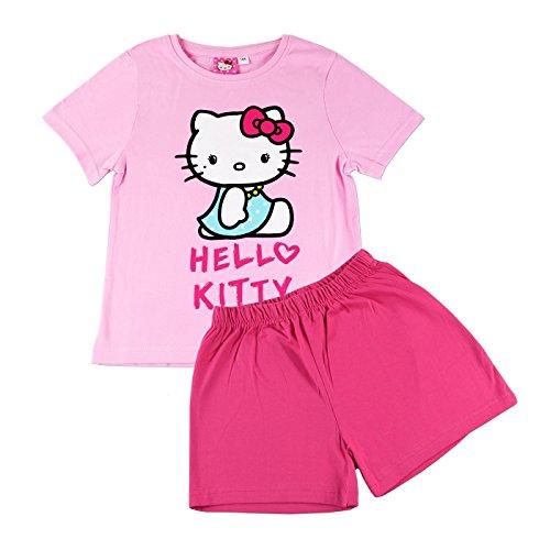 """Hello Kitty Kurz-Schlafanzug """"turkises Kleid"""" [116/122]"""