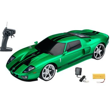 1:10 Licensed Green Ford Gt Electric Rtr Remote Control Rc Car (Xq)