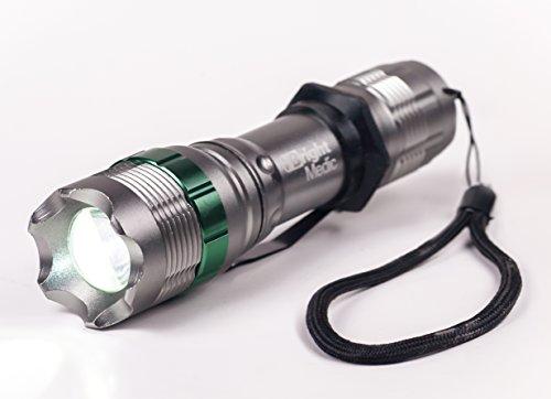 "350 Lumen ""Bonfire X"" 3-Mode Ultrabright Cree Led Flashlight, Tactical, Graphite Grey"