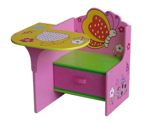 Disney Cars Table And Chair Set 4Gr8 Kidz Pink Series Kids Wooden Chair Desk with Storage ...