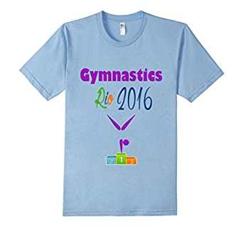 Awesome Gymnastics Olympic Games Rio 2016 T shirt for Gymnas