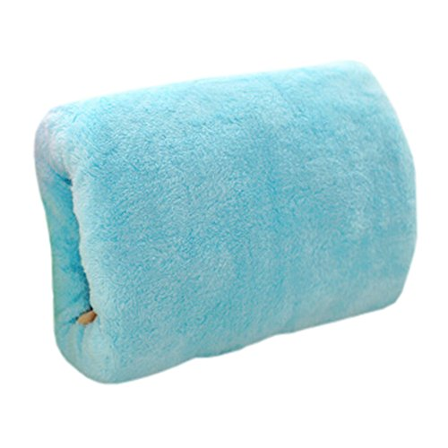 USB Hand Warmer Handwarmer Pocket Waterless Warm Hand Tools Soft Pillow Blue (Hand Warmer Electric compare prices)