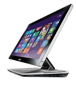 Asus ET2300INTI-B060K 58,4 cm (23 Zoll) Desktop-PC (Intel Core i5 3330, 3GHz, 6GB RAM, 1 TB HDD, NVIDIA GT630, DVD, Win 8) schwarz/silber