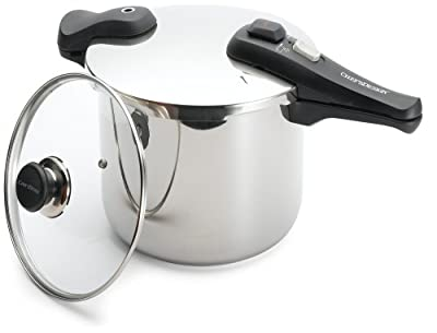 Chef's Design 10-7/8-Quart Stainless Steel Pressure Cooker by Chef's Design