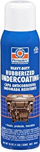 Permatex 81833-12PK Heavy Duty Rubberized Undercoating, 16 oz. Aerosol Can (Pack of 12)