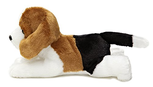 "Aurora Plush Homer Beagle Mini Flopsie 8"" by Aurora"