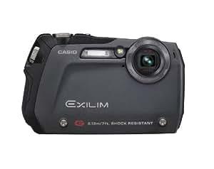Casio Exilim EX-G1 12.1 MP Slim-line Endurance Digital Camera with 3x Optical Zoom (Black)