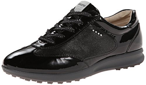 ECCO Women's Street Evo One Luxe Golf Shoe, Black, 40 EU/9-9.5 M US