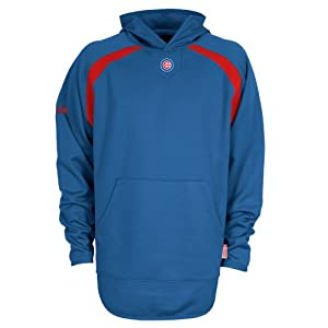 MLB Chicago Cubs Hooded Therma Base Tech Fleece by Majestic