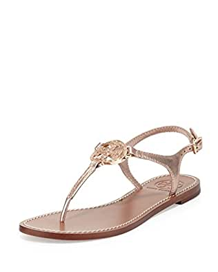 Tory burch violet metallic thong sandal flip for Tory burch jewelry amazon