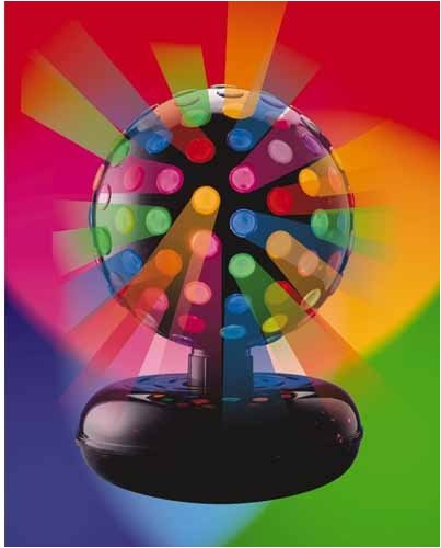 Creative Motion 80212-8 10 Inch Rotating Disco Ball Light