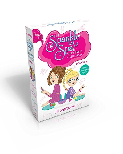 The Sparkle Spa Shimmering Collection Books 1-4 (Glittery nail stickers inside!): All That Glitters; Purple Nails and Puppy Tails; Makeover Magic; True Colors PDF