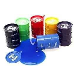 Big Barrel O Slime Multicolor Six Pack Barrel Of Slime, Toy:Bos L