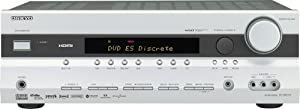 Onkyo TX-SR575S 7.1 Channel Home Theater Receiver (Silver) (Discontinued by Manufacturer)