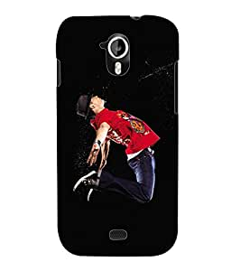 Fuson 3D Printed Dance Designer Back Case Cover for Micromax Canvas HD A116 - D617