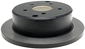 ACDelco 18A1476 Professional Durastop Rear Drum In-Hat Disc Brake Rotor