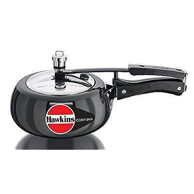 Hawkins Contura Hard Anodised Pressure Cooker, 2 Litres