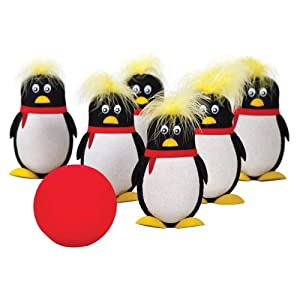 penguin bowling game