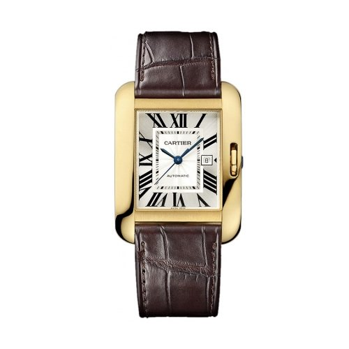 Cartier Tank Anglaise Large Yellow Gold Watch Watch - W5310030