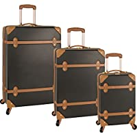 Diane von Furstenberg Saluti 3 Piece Hardside Spinner Luggage Set (Multiple Colors)