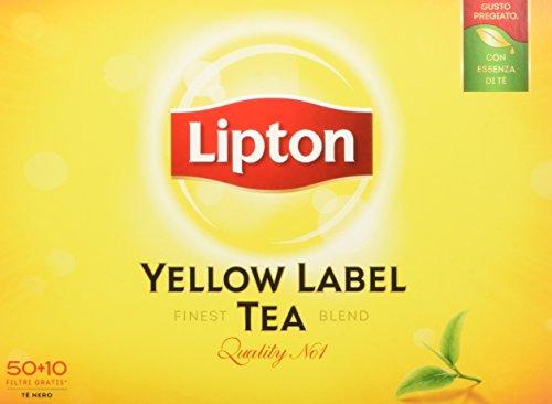 Lipton Tèyellow 60 Filtri