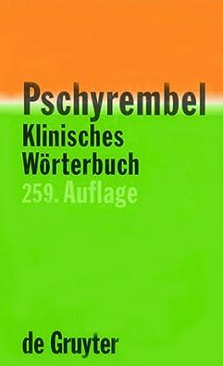 Pdf pschyrembel klinisches worterbuch 261. Auflage (german edition.