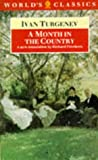 A Month in the Country (Oxford World's Classics) (0192826220) by Turgenev, Ivan