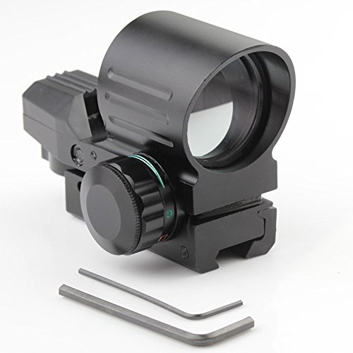 Very100 Tactical Holographic 4 Type Reflex Red Green Dot Sight Scope 11Mm Rail