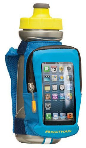 Nathan 22 Oz Quickview Hand Held Bottle - Nathan Blue