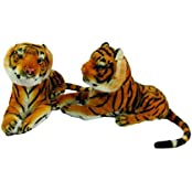 Deals India Tiger Cub (set Of 2)