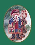 Juniper Branch Santa - Cross Stitch Kit