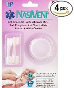 The NASIVENT Tube® Anti Snoring, Snore and Anti Sleep Apnea Aid.  Endorsed by  ENT doctors