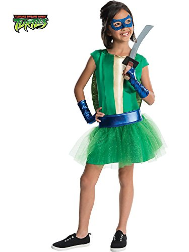 Rubies Teenage Mutant Ninja Turtles Deluxe Leonardo Tutu Dress Costume