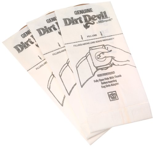 Dirt Devil Type G Handheld Vacuum Bags (3-Pack), 3010347001 at Sears.com
